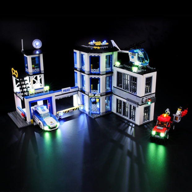 Light Kit For Police Station 60141