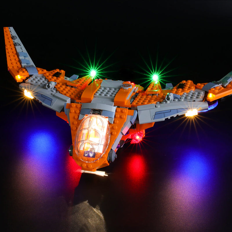 Lego Light Kit For Thanos: Ultimate Battle 76107  BriksMax