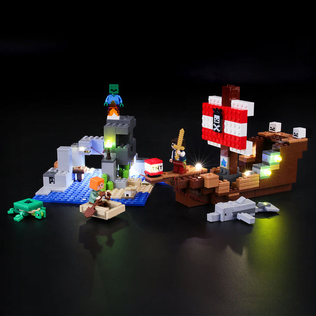 Light Kit For The Pirate Ship Adventure 21152
