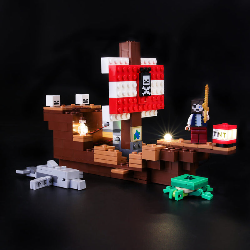 Lego Light Kit For The Pirate Ship Adventure 21152  BriksMax
