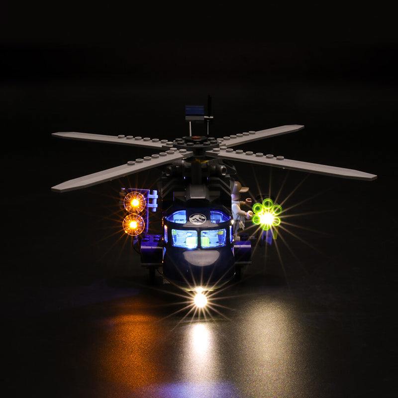 Lego Light Kit For Blue's Helicopter Pursuit 75928  BriksMax