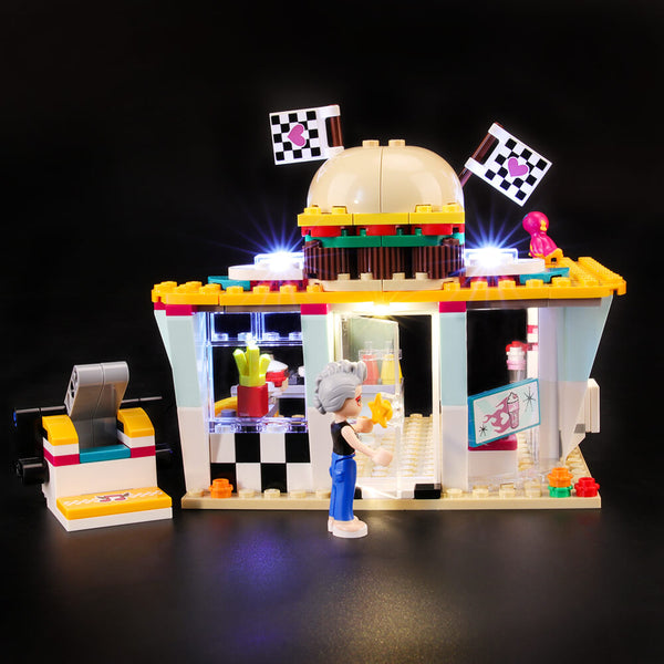 Lego Light Kit For Drifting Diner 41349  BriksMax