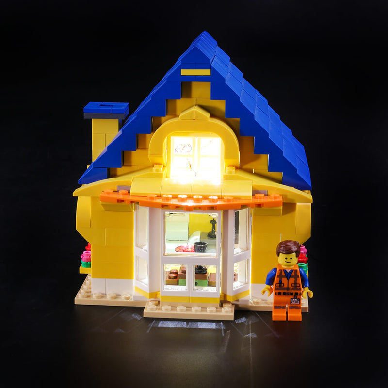 Lego Light Kit For Emmet's Dream House & Rescue Rocket 70831  BriksMax