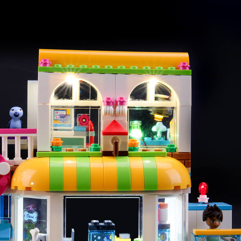 Lego Light Kit For Heartlake City Pet Center 41345 - [Vendor]