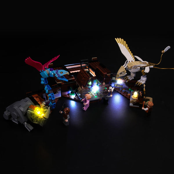 Light Kit For Newt's Case of Magical Creatures 75952