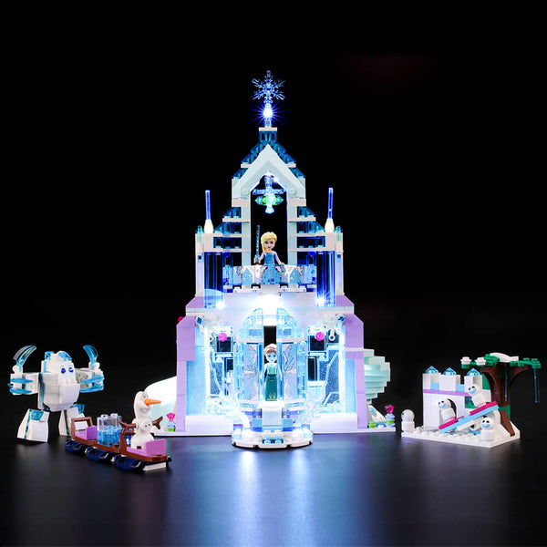 Lego Light Kit For Elsa's Magical Ice Palace 41148&43172  BriksMax