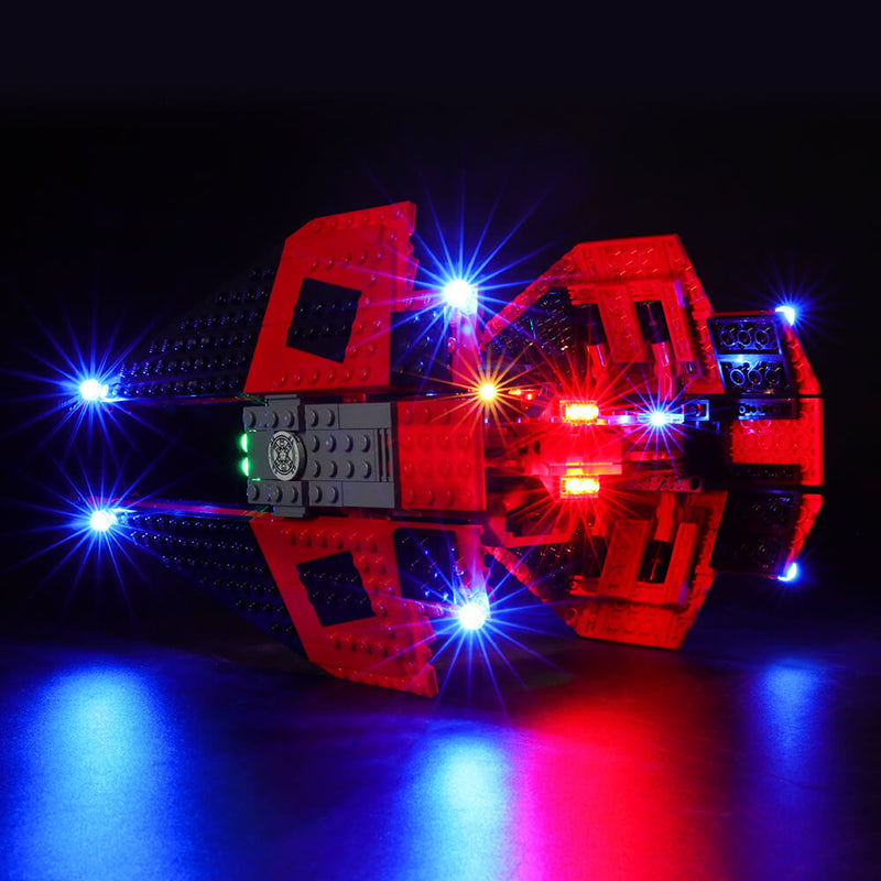 Lego Light Kit For Major Vonreg's TIE Fighter 75240  BriksMax