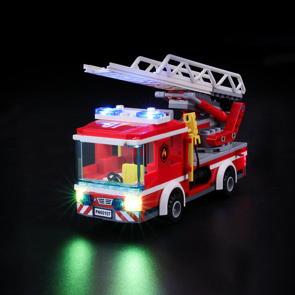 Lego Light Kit For Fire Ladder Truck 60107  BriksMax