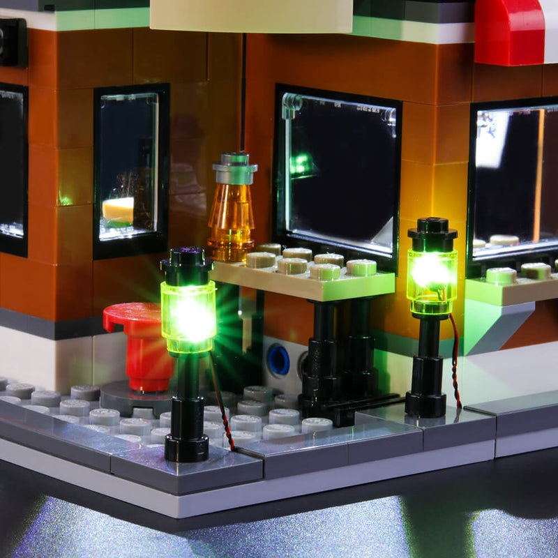 Lego Light Kit For Corner Deli 31050  BriksMax
