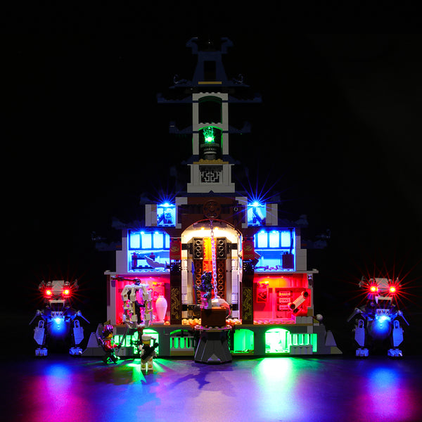 Lego Light Kit For Temple of The Ultimate Ultimate Weapon 70617  BriksMax
