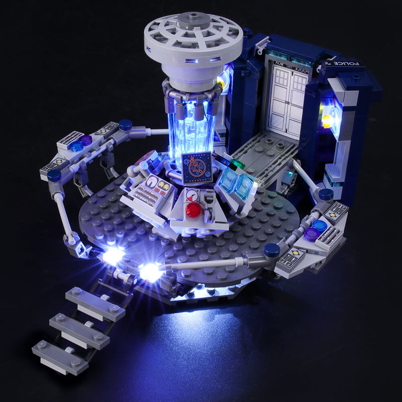 Light Kit For Doctor Who 21304-BriksMax-Lego