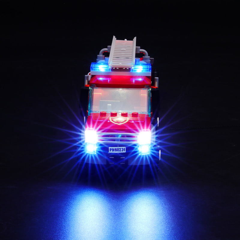 Lego Light Kit For Fire Chief Response Truck 60231  BriksMax