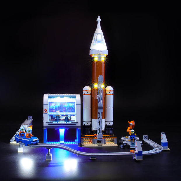 Light Kit For Deep Space Rocket and Launch Control 60228