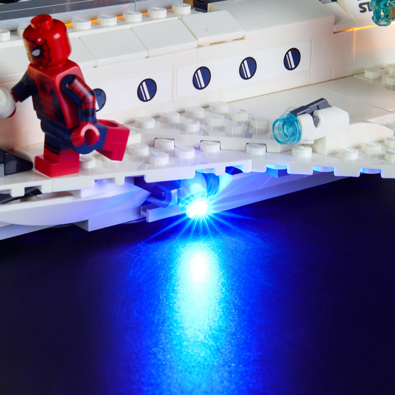 Lego Light Kit For Stark Jet and the Drone Attack 76130  BriksMax