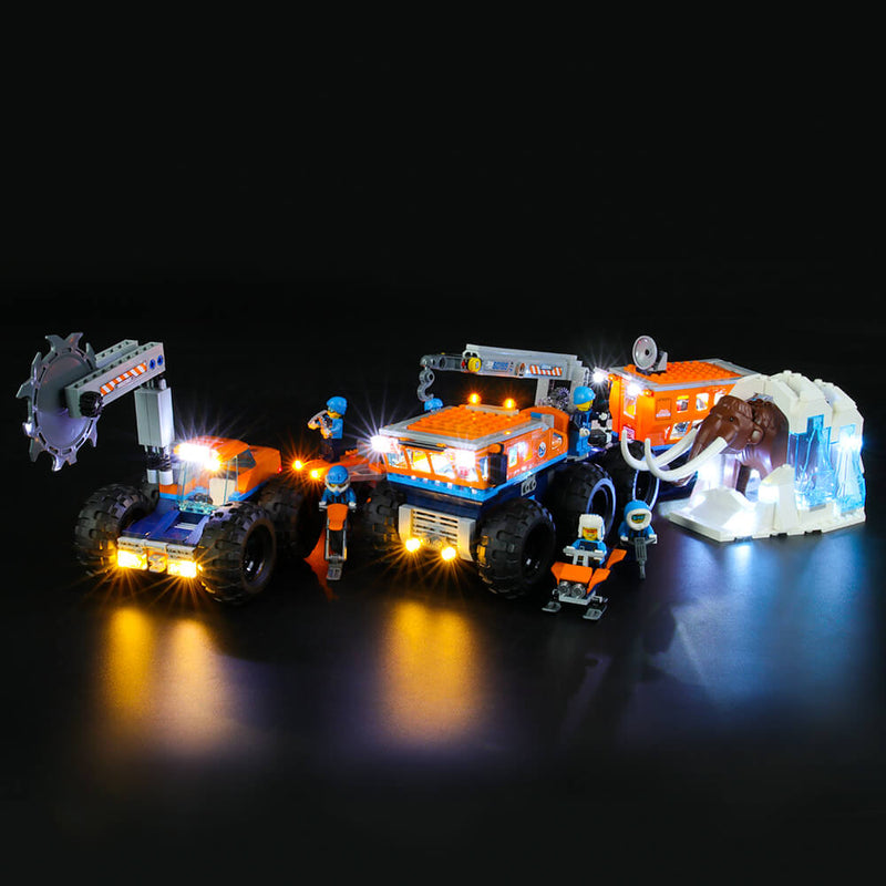 Lego Light Kit For Arctic Mobile Exploration Base 60195  BriksMax