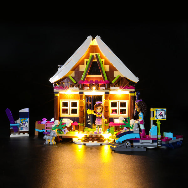 Lego Light Kit For Snow Resort Chalet 41323  BriksMax