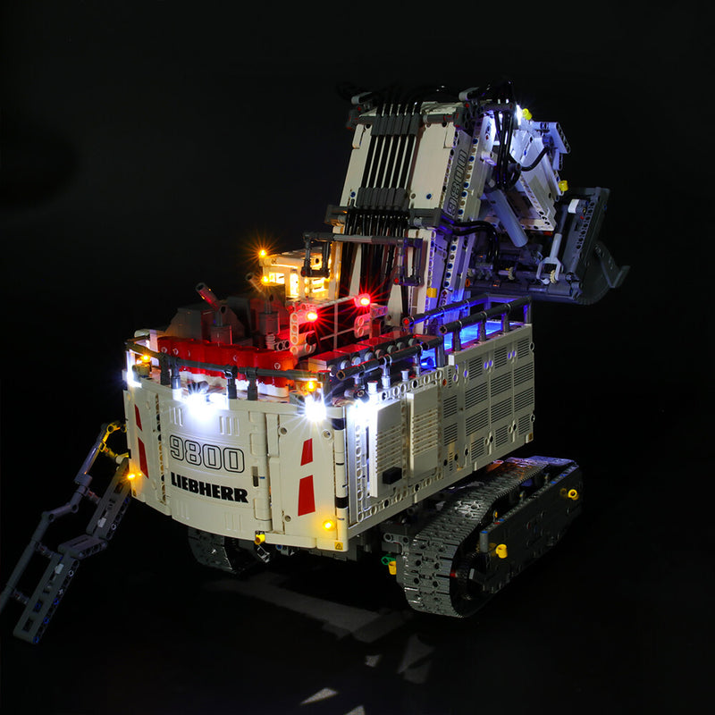 Lego Light Kit For Liebherr R 9800 42100  BriksMax
