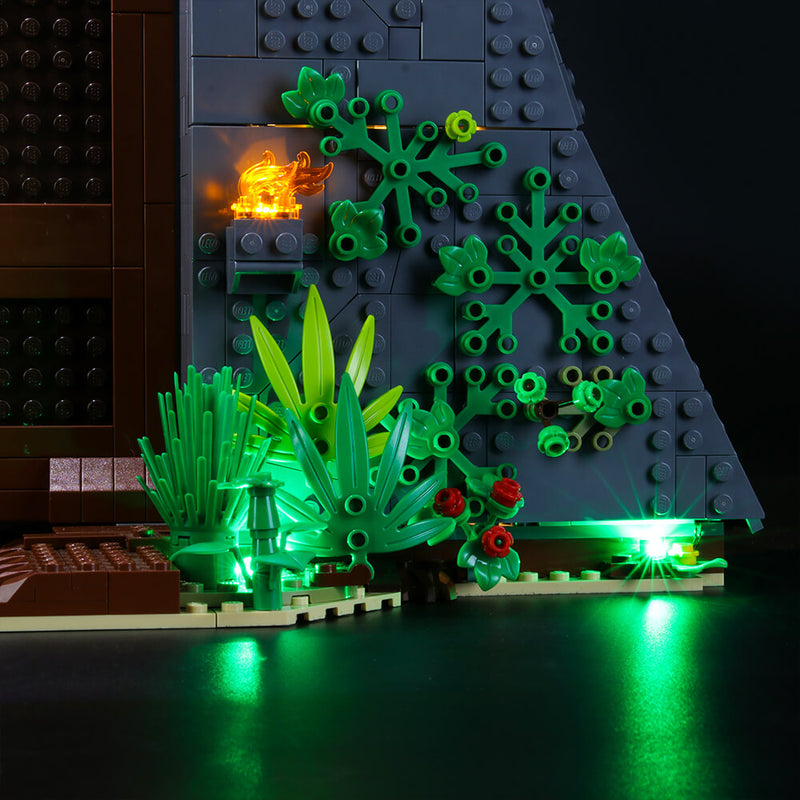 Lego Light Kit For Jurassic Park: T. rex Rampage 75936  BriksMax