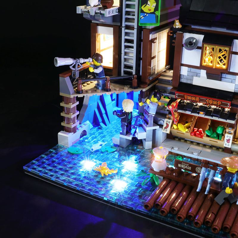 Lego Light Kit For NINJAGO City Docks 70657  BriksMax