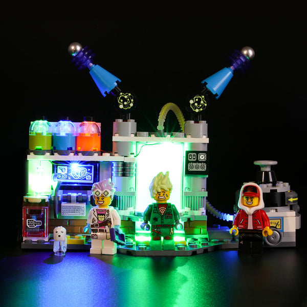 Lego Light Kit For J.B.'s Ghost Lab 70418  BriksMax