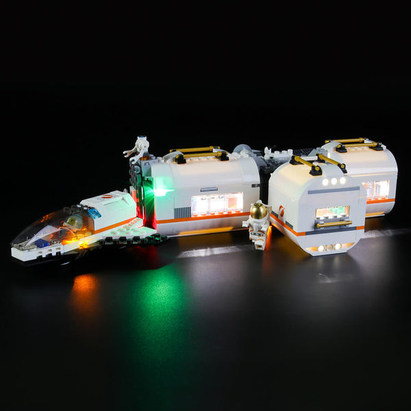 Lego Light Kit For Lunar Space Station 60227  BriksMax