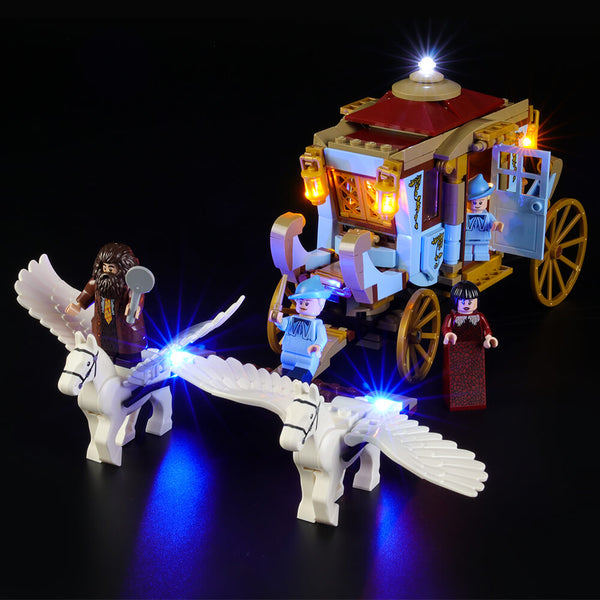 Lego Light Kit For Beauxbatons' Carriage: Arrival at Hogwarts 75958  BriksMax