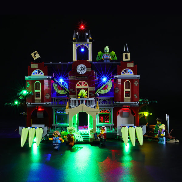 Lego Light Kit For Newbury Haunted High School 70425  BriksMax
