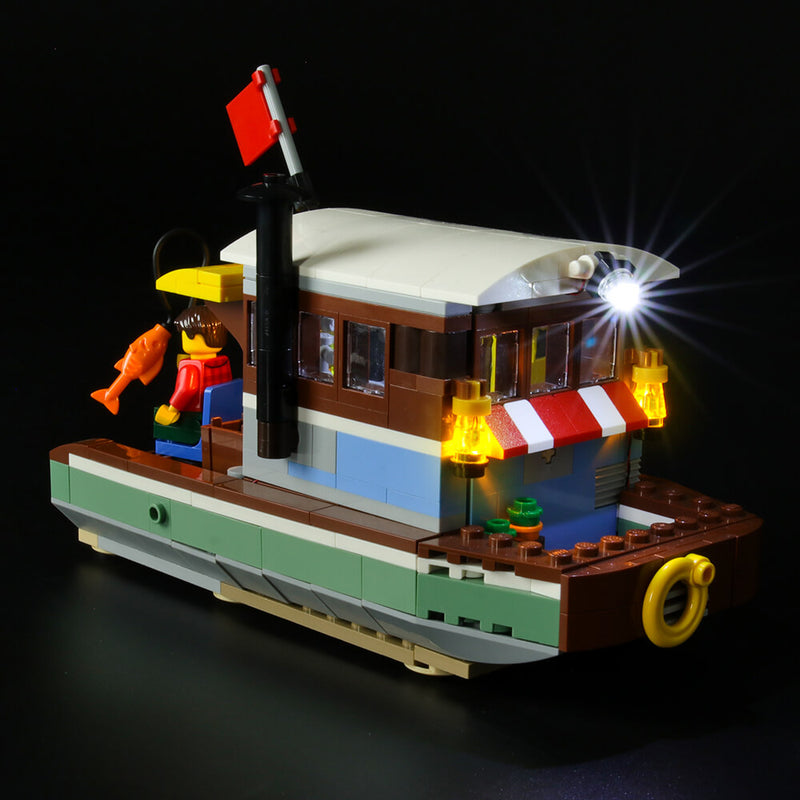 Lego Light Kit For Riverside Houseboat 31093  BriksMax