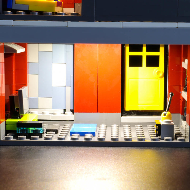 Lego Light Kit For Modular Skate House 31081  BriksMax