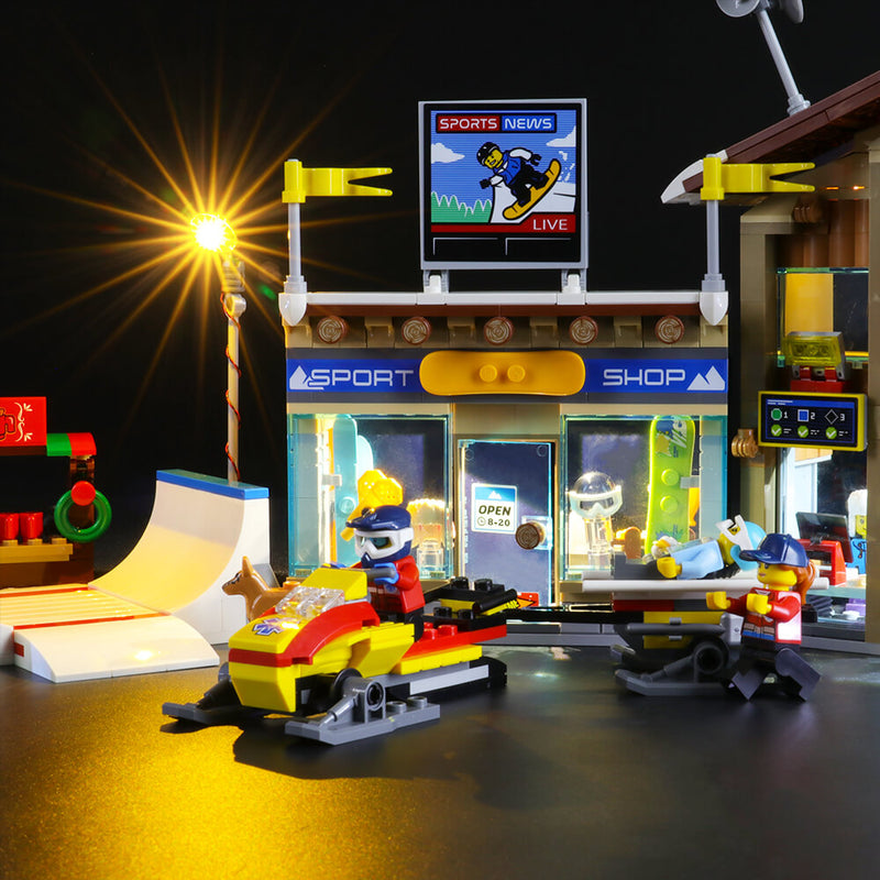 Lego Light Kit For Ski Resort 60203  BriksMax