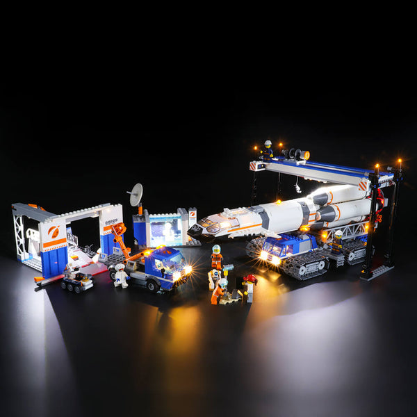 Lego Light Kit For Rocket Assembly & Transport 60229  BriksMax