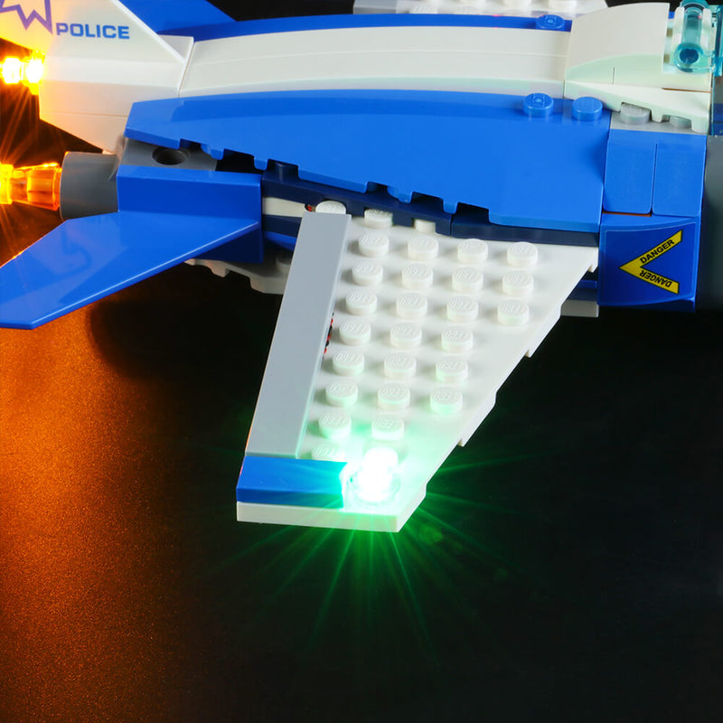 Lego Light Kit For Sky Police Parachute Arrest 60208  BriksMax