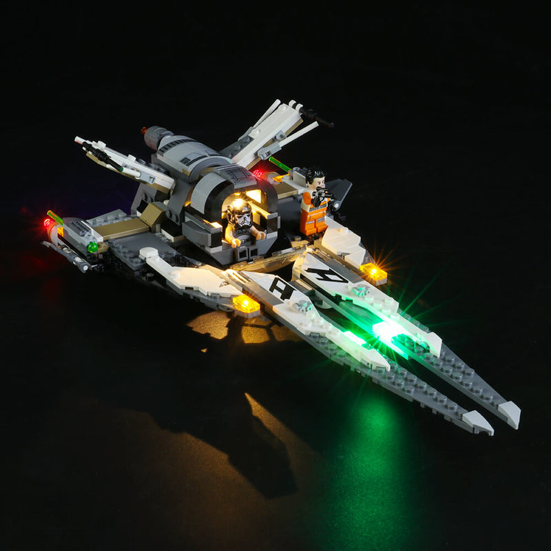 Lego Light Kit For Black Ace TIE Interceptor 75242  BriksMax
