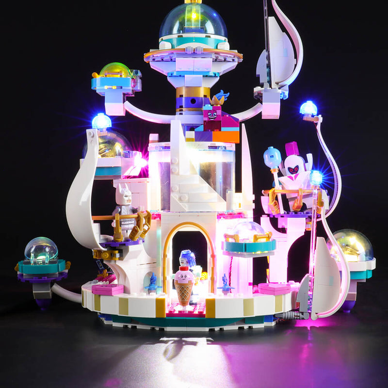 Lego Light Kit For Queen Watevra's 'So-Not-Evil' Space Palace 70838  BriksMax
