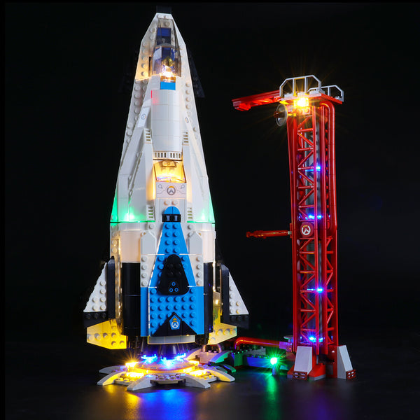 Lego Light Kit For Watchpoint: Gibraltar 75975  BriksMax