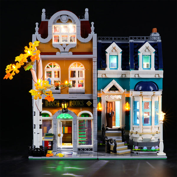 Lego Light Kit For Bookshop 10270  BriksMax