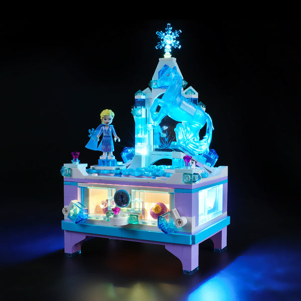 Lego Light Kit For Elsa's Jewelry Box Creation 41168  BriksMax