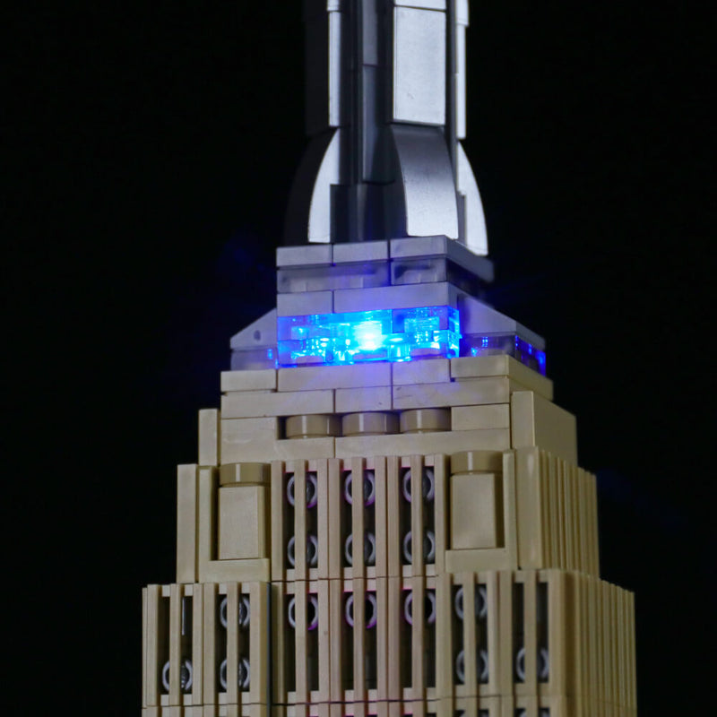 Lego Light Kit For Empire State Building 21046  BriksMax