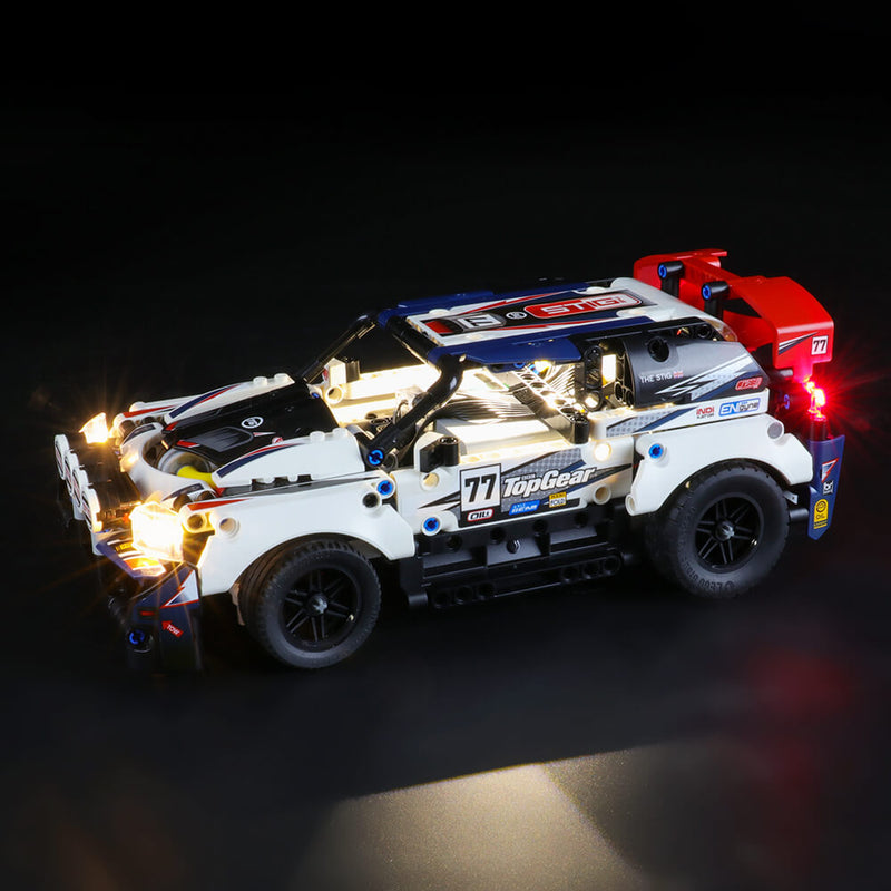 Lego Light Kit For App-Controlled Top Gear Rally Car 42109  BriksMax