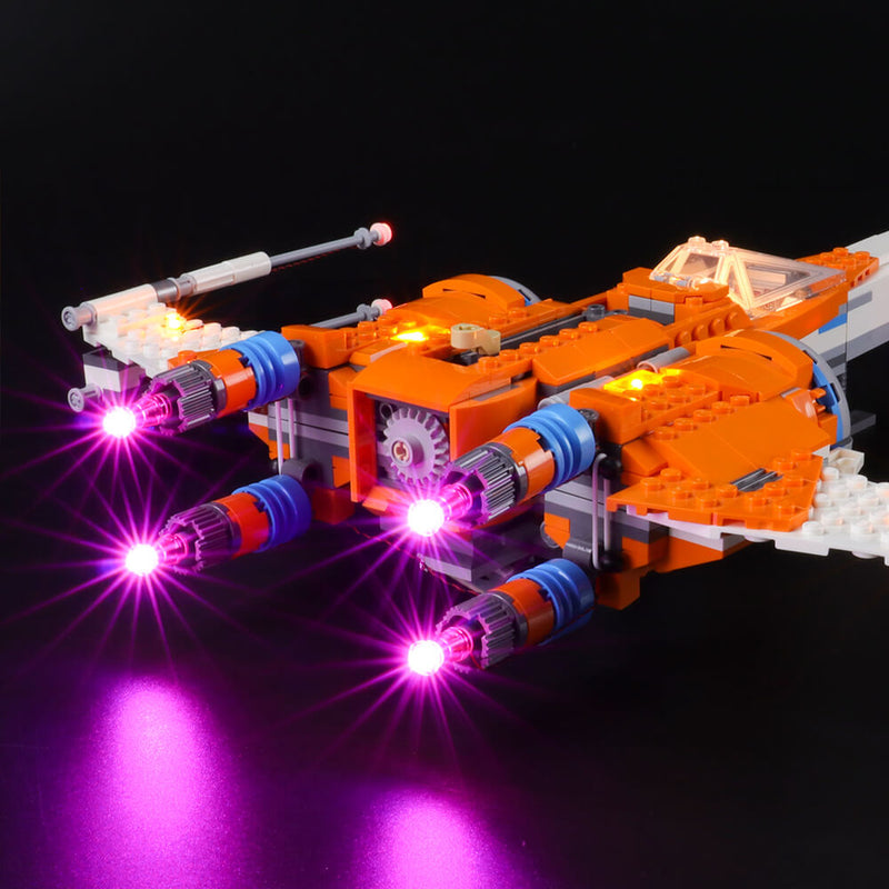 Lego Light Kit For Poe Dameron's X-wing Fighter 75273  BriksMax