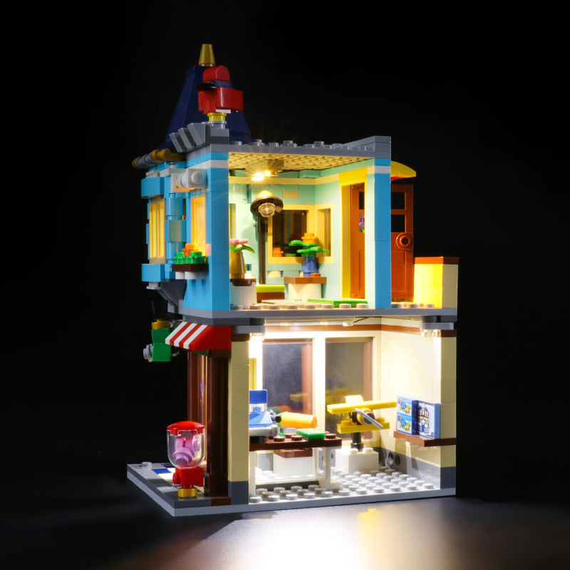 Lego Light kit for Townhouse Toy Store 31105  BriksMax