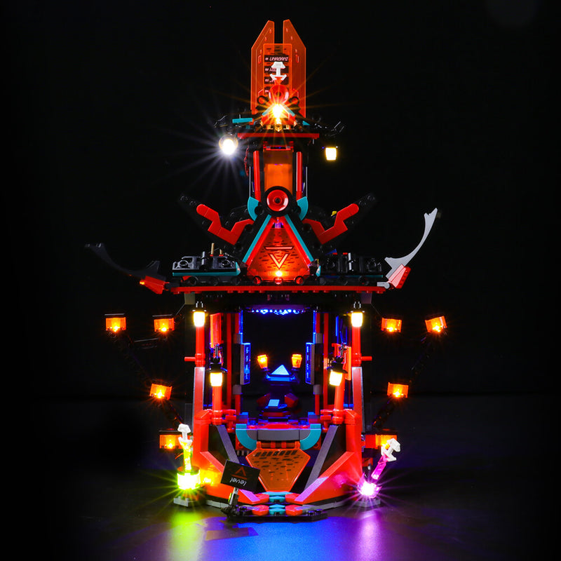 Lego Light Kit For Empire Temple of Madness 71712  BriksMax