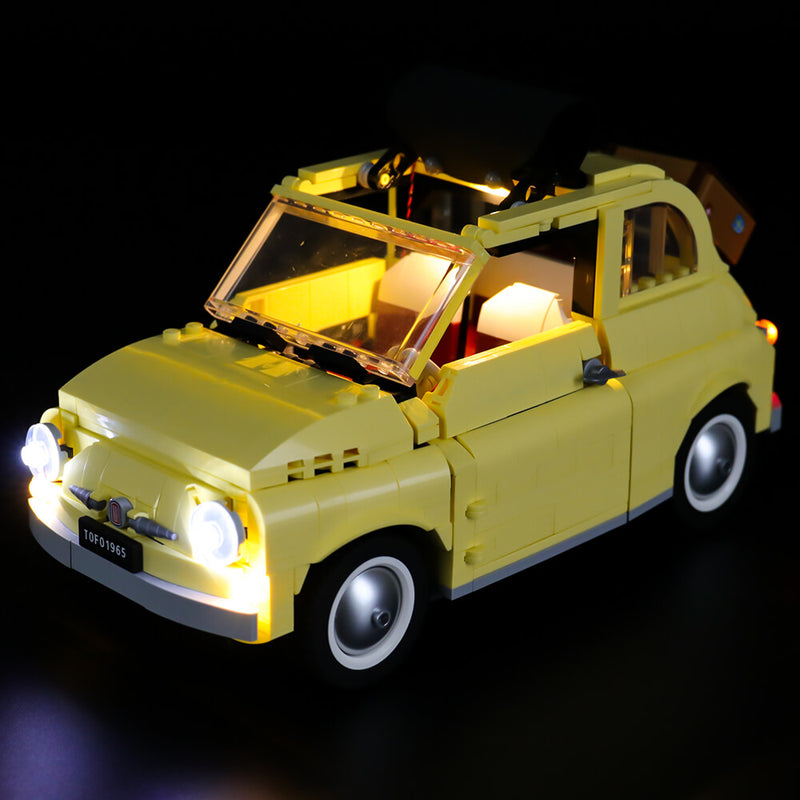 Lego Light Kit For Fiat 500 10271  BriksMax