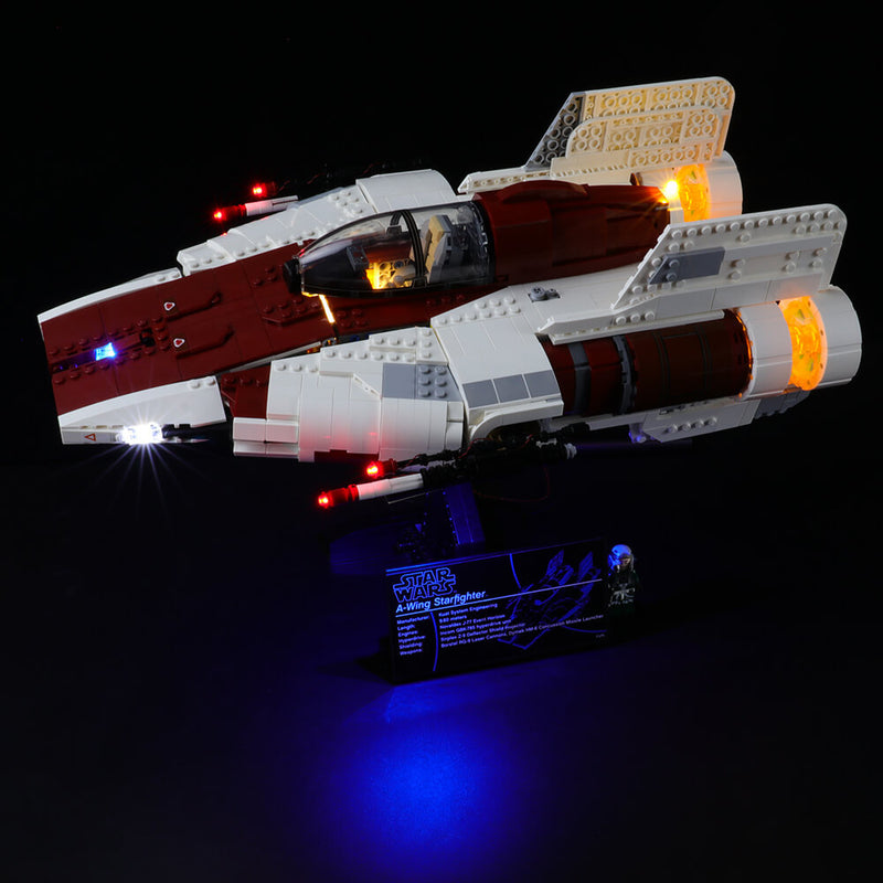 Lego Light Kit For A-Wing Star Fighter 75275  BriksMax