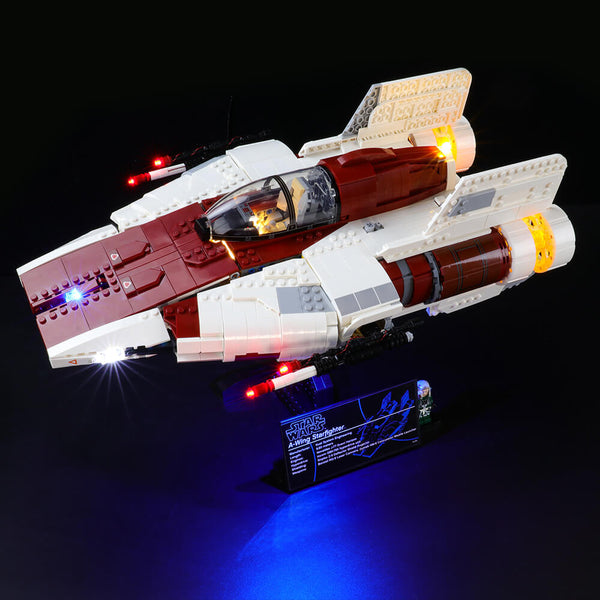 Lego Light Kit For A-Wing Star Fighter 75275( PRE-Order 25th Aug Batch)  BriksMax
