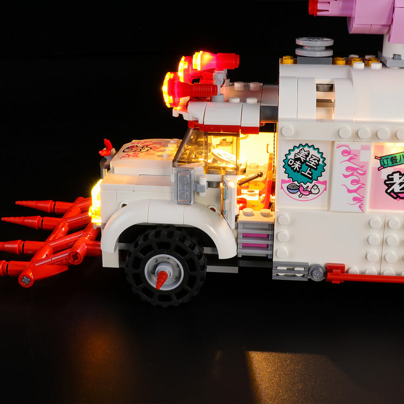 Lego Light Kit For Pigsy's Food Truck 80009  BriksMax