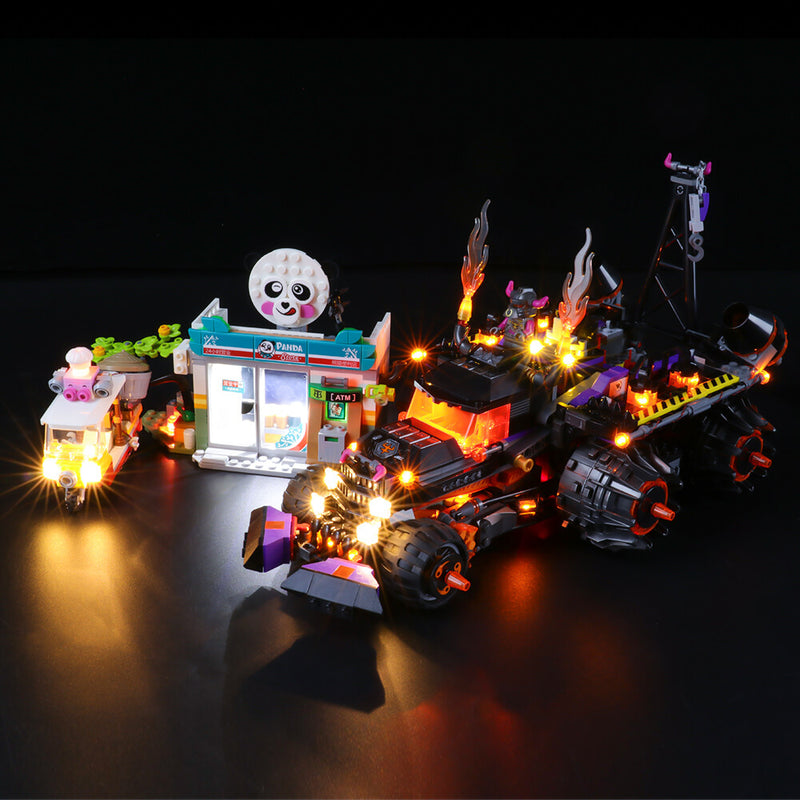 Lego Light Kit For Red Son's Inferno Truck 80011  BriksMax