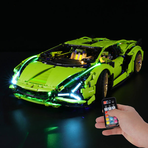 Lego Light Kit For Lamborghini Sián FKP 37 42115  BriksMax