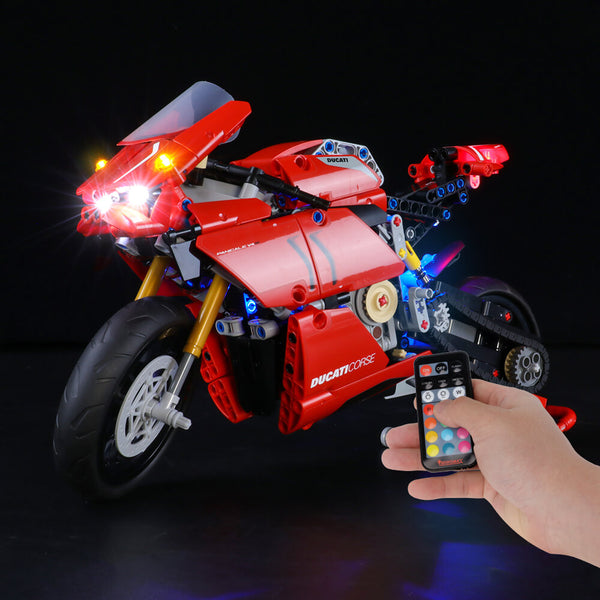 Lego Light Kit For Ducati Panigale V4 R 42107  BriksMax