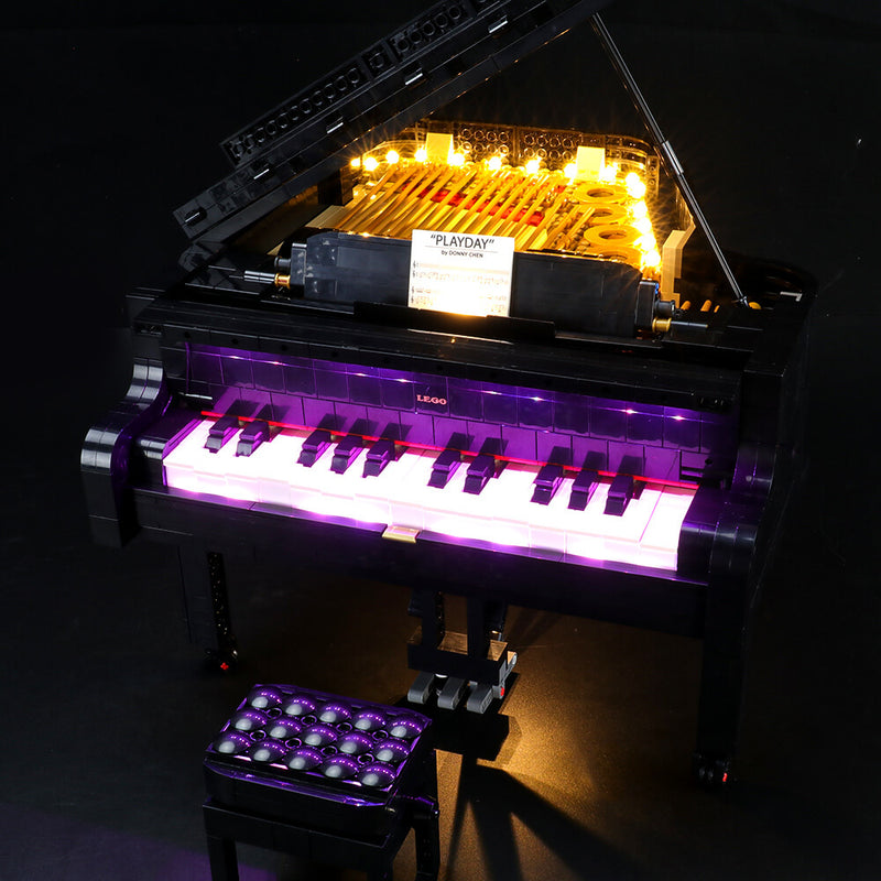Lego Light Kit For Grand Piano 21323  BriksMax